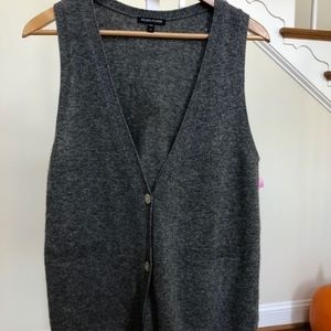 Eileen Fisher Lambswool Cashmere vest